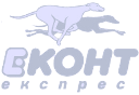 Econt logo Gray